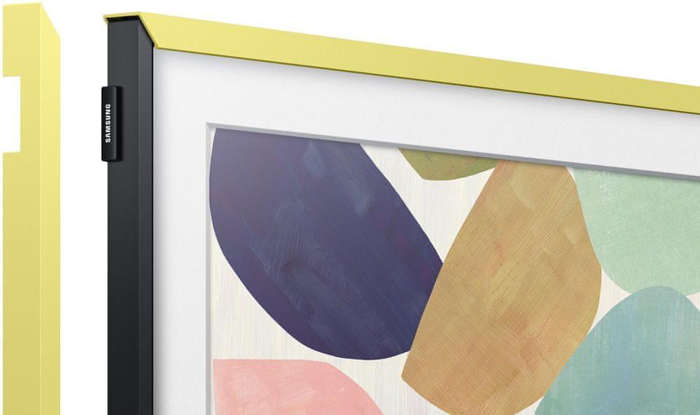 """Samsung Výměnný rámeček pro Frame TV 32"""", citronově žlutá 2020"""