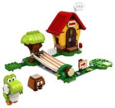 LEGO Super Mario™ 71367 Mariova hiša in Yoshi – razširitveni komplet
