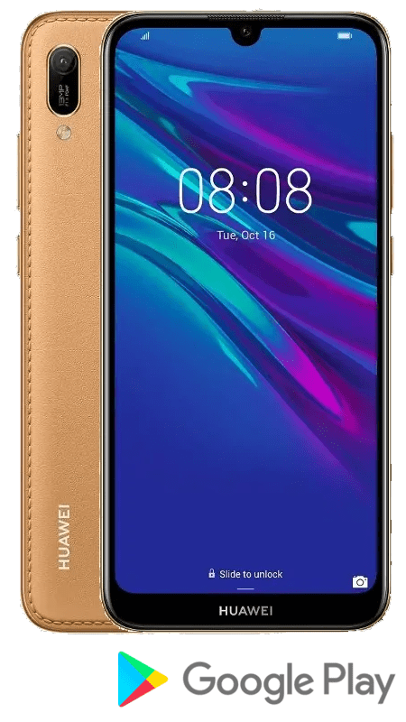 Huawei Y6 2019, 2 GB/32 GB, Amber Brown