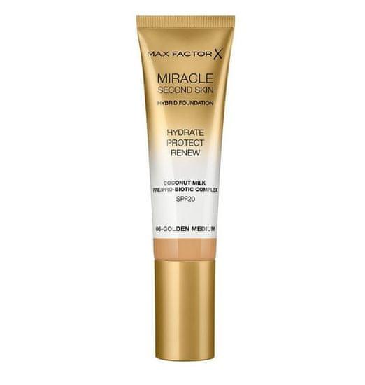 Max Factor Miracle Touch Second Skin tekoča podlaga za obraz, 006