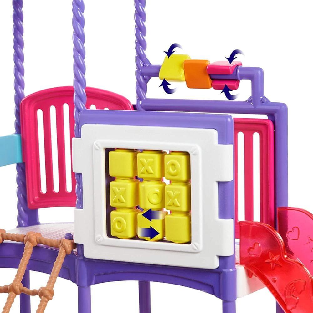 Mattel Barbie Chůva na hřišti Herní set