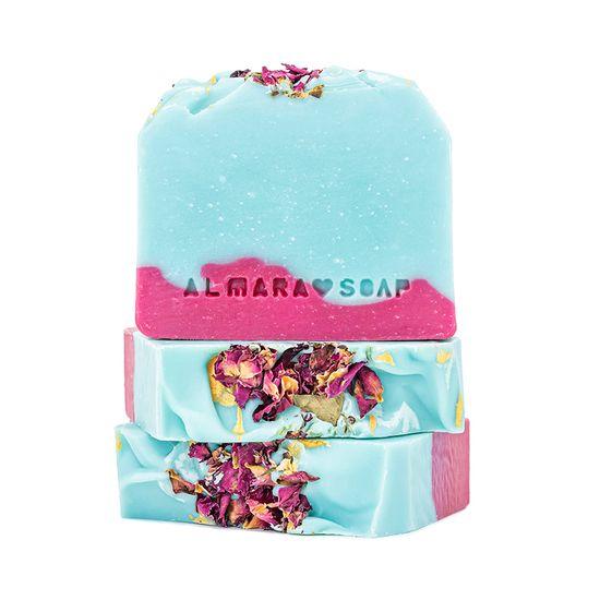 Almara Soap Almara Soap Wild Rose - přírodní tuhé mýdlo
