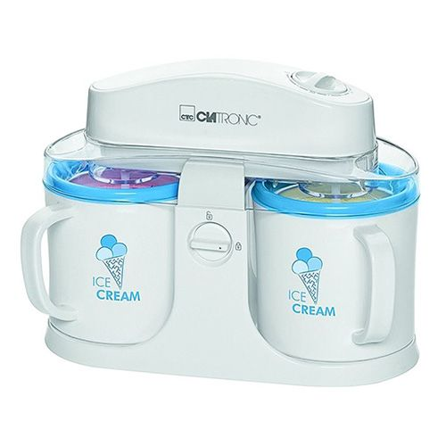 Clatronic ICM 3650 dupla jégkészítő. 2x500ml, időzítő,, ICM 3650 dupla jégkészítő. 2x500ml, időzítő, 12W