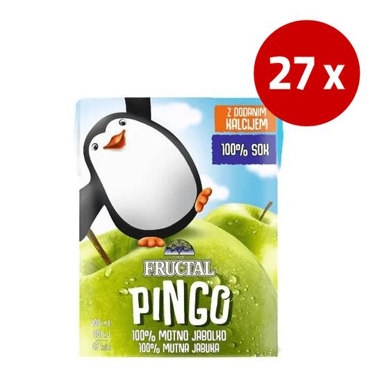 Fructal Pingo sok, jabolko, 27 x 200 ml