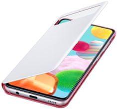 Samsung S-View ovitek za Galaxy A41/A415, preklopni, pametni, bel (EF-EA415PWE)