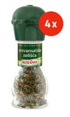 Kotanyi Provansalska zelišča, mlinček, 4 x
