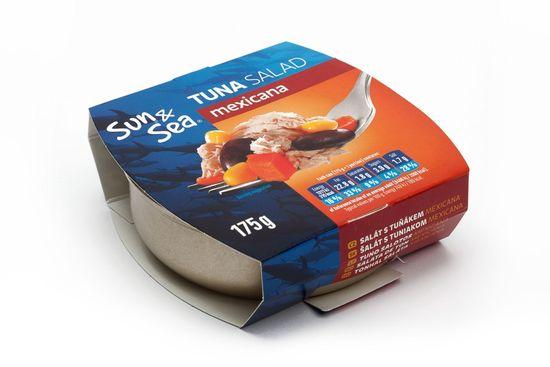 Sun&Sea Šalát s tuniakom Mexicana 175 g