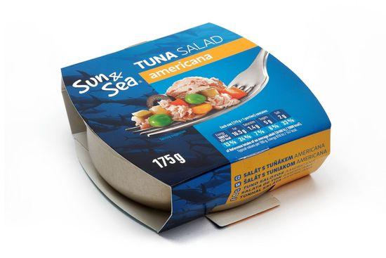 Sun&Sea Šalát s tuniakom Americana 175 g