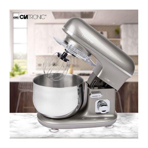 Clatronic KM3712 TI Tytanowy robot kuchenny, Numer magazynowy BVZ: 9205247
