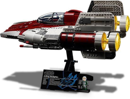 LEGO igra LEGO® A-wing Starfighter™ 75275 – I'm Rick James Bricks