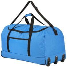 TRAVEL Z Taška s kolieskami Foldable Wheelbag Blue