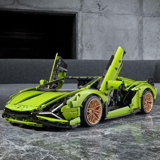 LEGO Technic 42115 Lamborghini Sian FKP 37