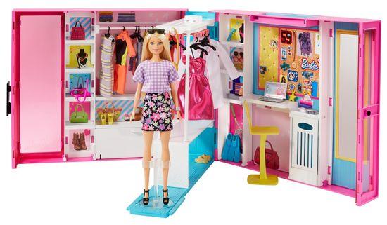 Mattel Barbie Sanjska garderoba s punčko