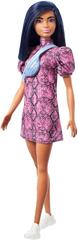 Mattel Barbie Modelka 143 - Obleka z vzorcem iz kačje kože