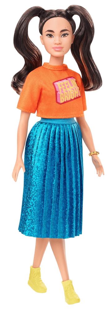 Mattel Barbie Modelka 145 - Zářivé šaty