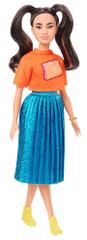 Mattel lalka Barbie Modelka 145 - Błyszcząca sukienka