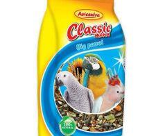 Avicentra Classic menu velký papoušek 1000g,