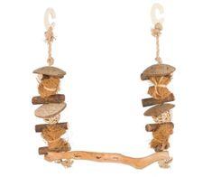 Trixie Závěsná houpačka z přírodních materiálů 45 x 30 cm