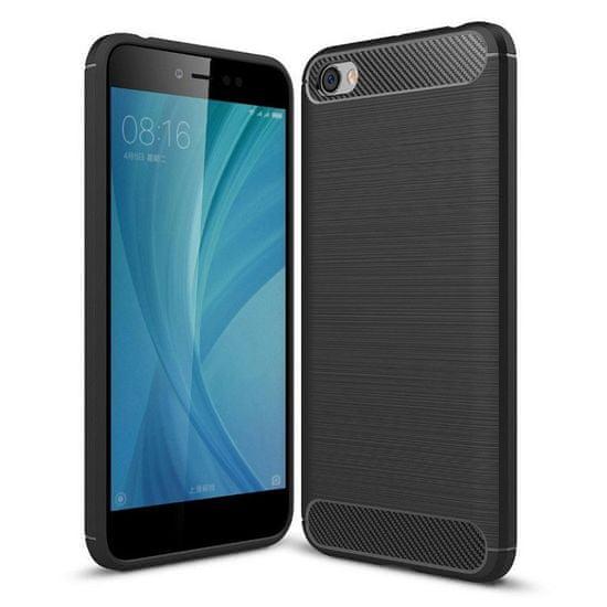 MG Silikonski ovitek Carbon Case Flexible TPU za Xiaomi Redmi Note 5A Črna