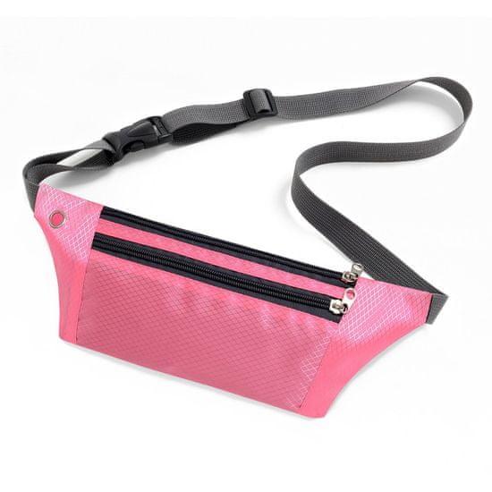 MG Ultimate Running Belt tekaški pas, roza