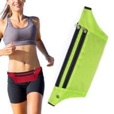 MG Ultimate Running Belt tekaški pas, zelena