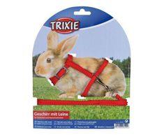 Trixie Postroj s vod. pro králíky, rychlouzávěry 25-44/1cm 1,25m