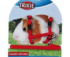 Trixie Nylonový postroj s vodítkem pro morče trixie,