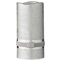 Lene Bjerre Dekoratív gyertya CANDLE LED ezüst 7,5 x 15 cm