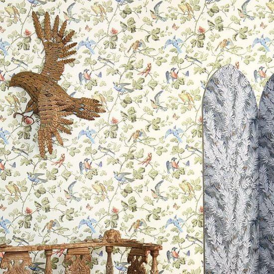 Cole & Son Ozadje WINTER BIRDS 2007, kolekcija ARHIVSKA ANTOLOGIJA