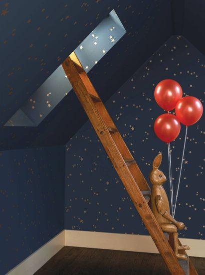 Cole & Son Ozadje STARS 3015, kolekcija WHIMSICAL