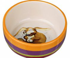 Trixie Keramická miska s motivem králíka 250ml/ 11 cm,