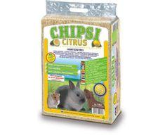 JRS Chipsi lisované hobliny citrus 60 l, podestýlky, hlodavci