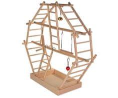 Trixie Dřevěný plácek pro ptáky 44x44x16cm trixie,