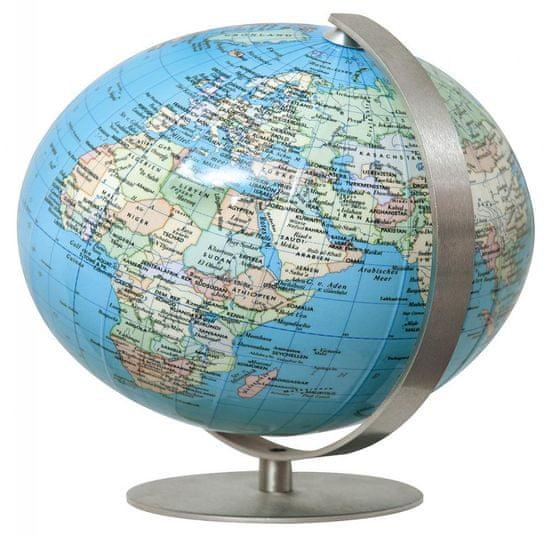 World Maps mini glóbus ROYAL BLUE politický 12cm glóbus / anglicky