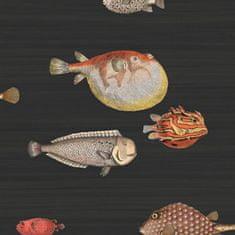 Cole & Son Ozadje ACQUARIO 10048, kolekcija FORNASETTI SENZA TEMPO