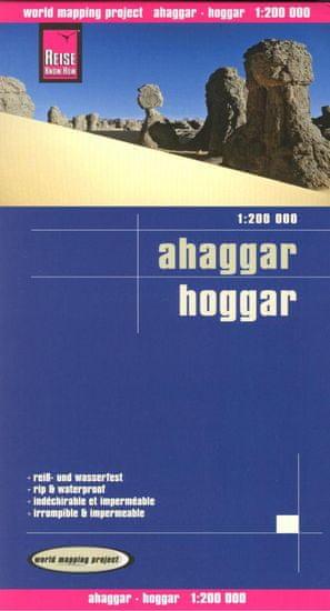 World Maps Ahaggar (Maroko) 1:200t skladaná mapa RKH