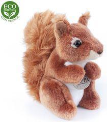 Rappa Plüss ülő mókus, 18 cm, ECO-FRIENDLY