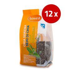 Bimed Chia semena, 12 x 200 g