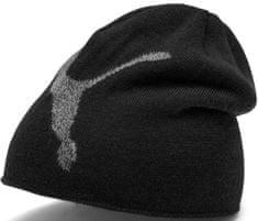 Puma dětská čepice Ess Logo Beanie Jr černá