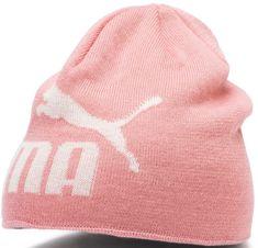 Puma Ess Logo Beanie Jr otroška kapa, roza