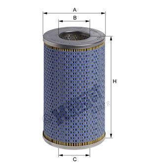 Hengst Filter Olejové filtry E198HD09