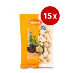 Bimed Macadamia Natural, 15 x 100 g