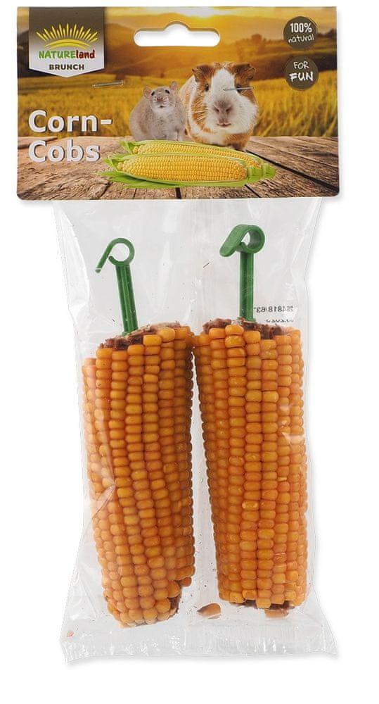 NATURE LAND Pochoutka Brunch kukuřičné klasy 8x2 ks