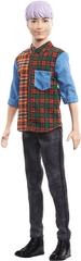 Mattel Barbie Model Ken 154 – vijolični lasje
