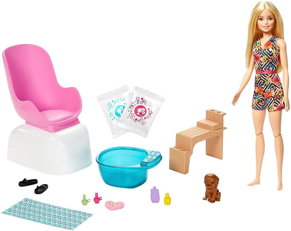 Mattel Barbie Manikúra/Pedikúra Herní set