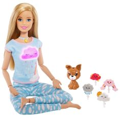 Mattel Barbie jogínka 5 meditací