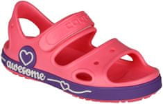 Coqui Gyerek cipő YOGI 8862 New rouge/Dk. lila 8862-406-4243 28/29 rózsaszín