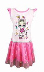 "SETINO Otroška obleka ""LOL"" - svetlo roza - 146 / 10–11 let"