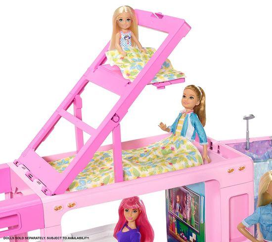 Mattel Barbie Sanjski avtodom 3 v 1