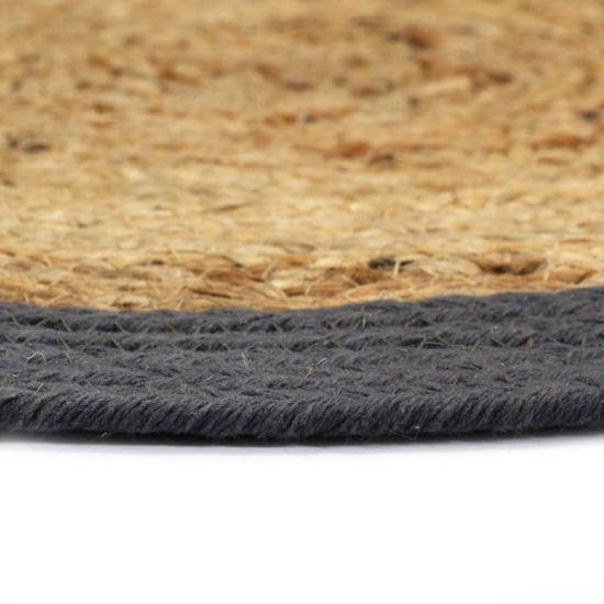 shumee Pogrinjki 4 kosi naravni in antracitni 38 cm juta in bombaž